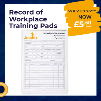 Record of Workplace Training Pads -193