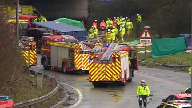 Woman Killed by Unstable Lorry Load