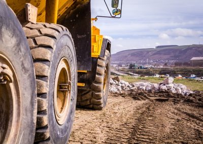 Company fined after an employee dies after being run over by a dumper truck