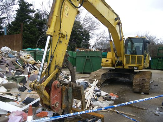 Waste company fined £40,000 after worker loses leg