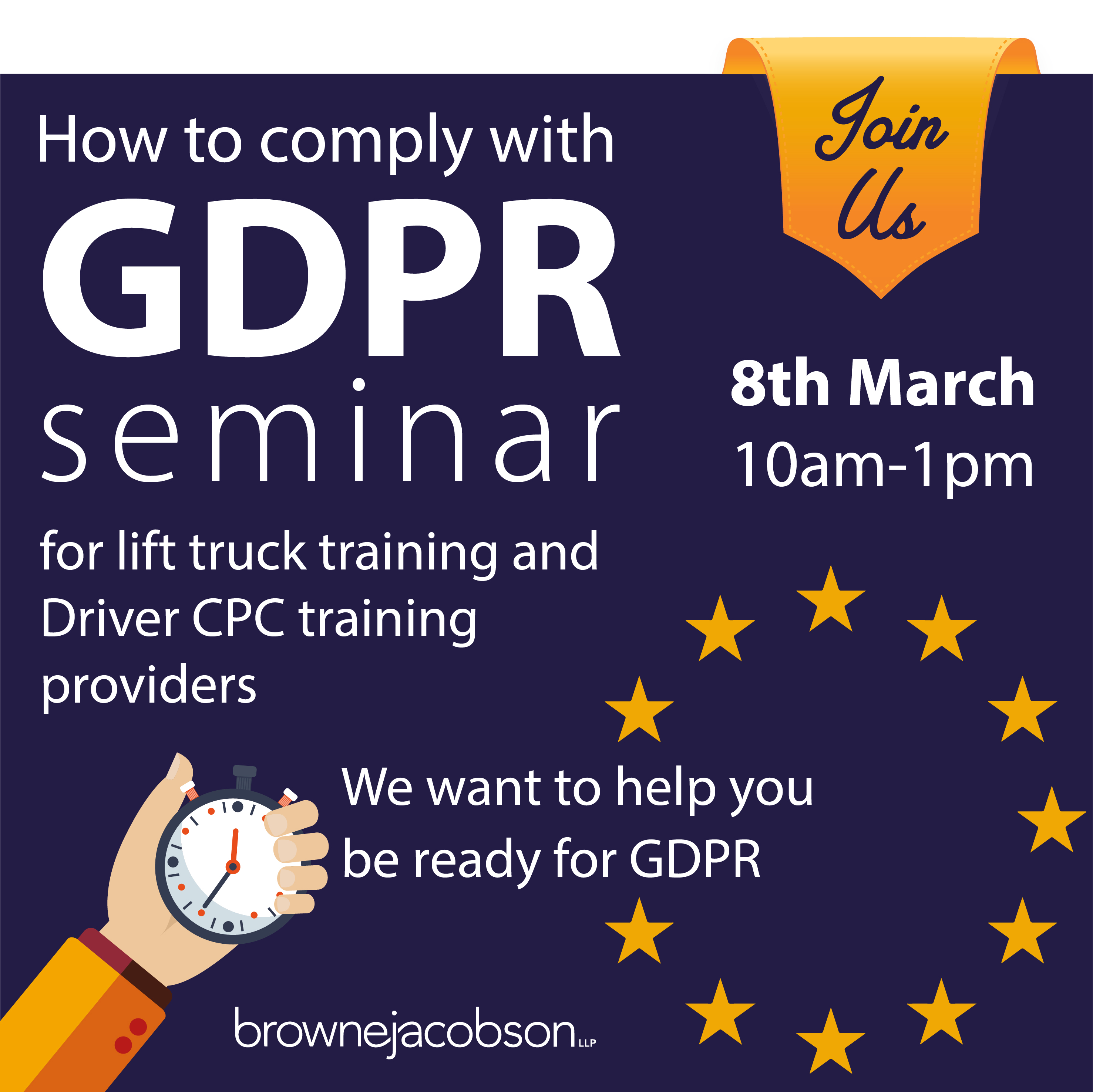 RTITB to Host GDPR Event