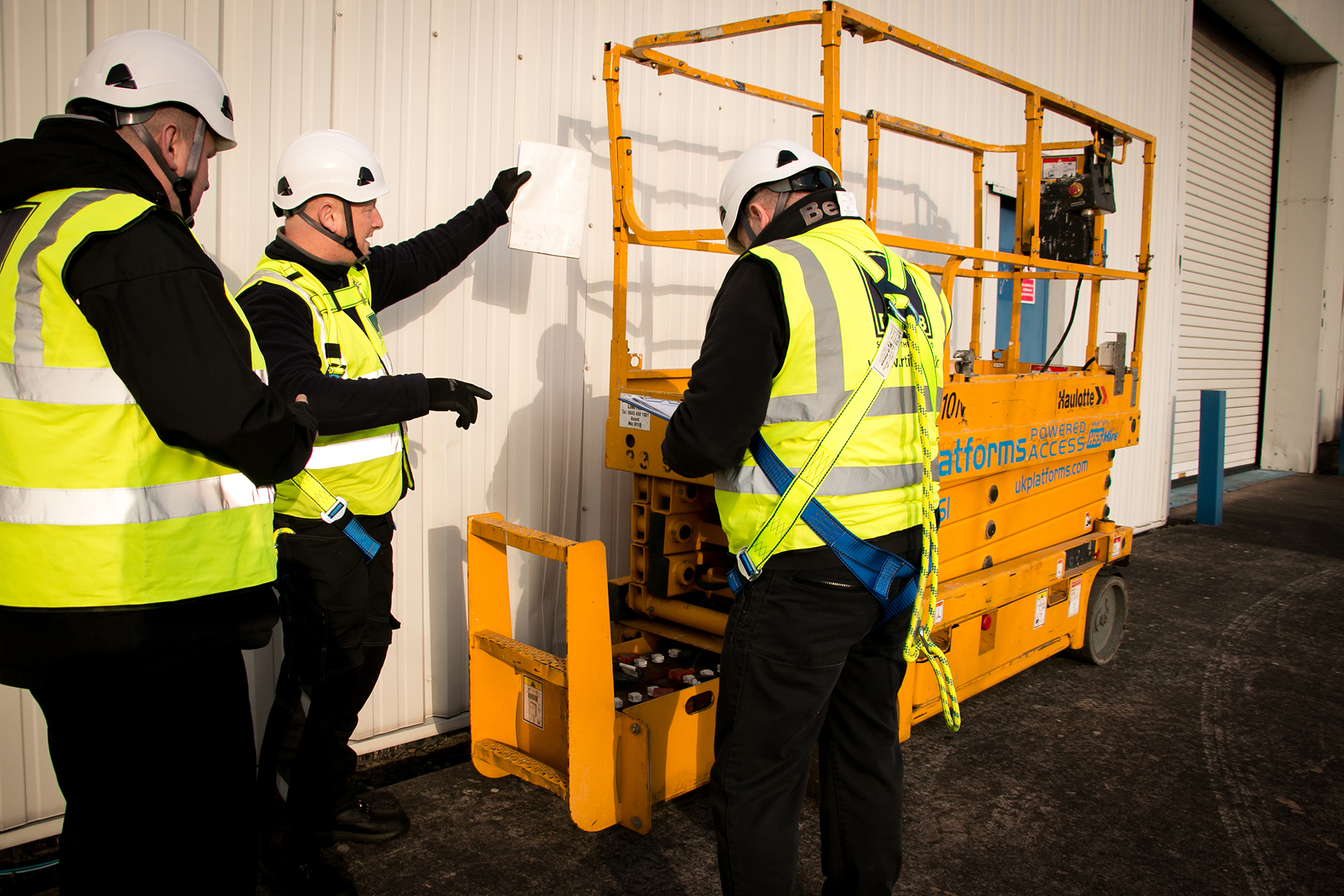 RTITB Launch New 'MEWP' Operator Training Course