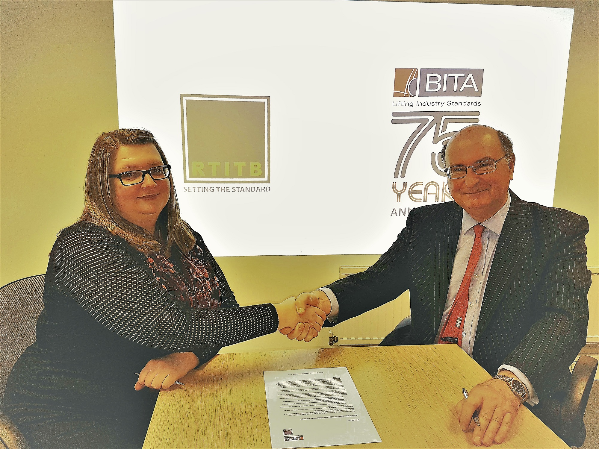 RTITB and BITA Collaborate to Raise Forklift Training Standards