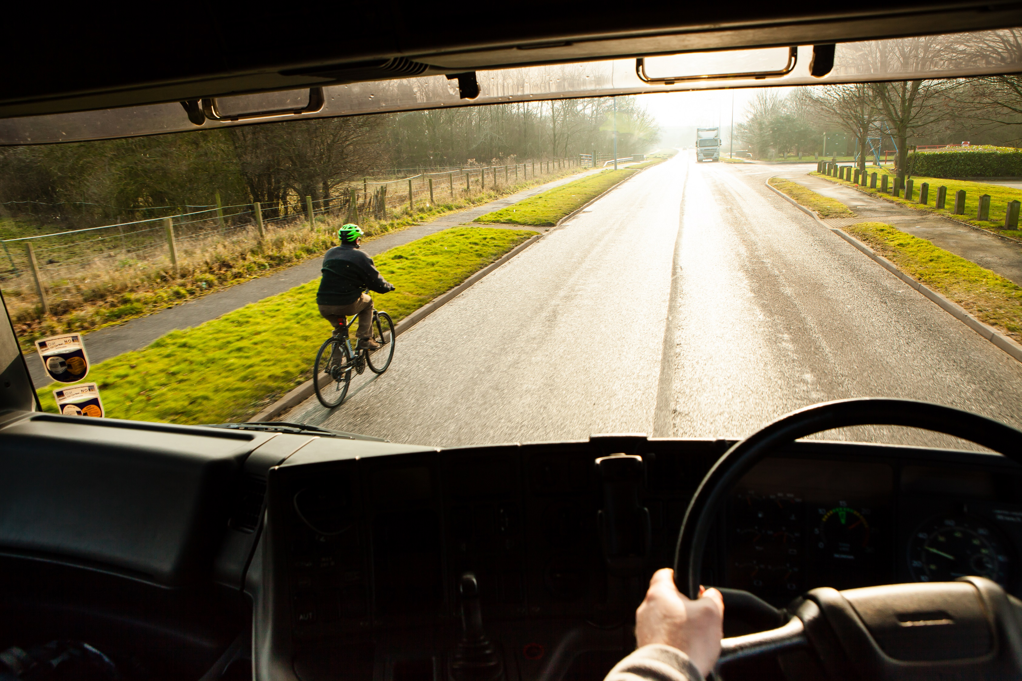 Driver Is One of First to Be Fined for Close-Call With Cyclist