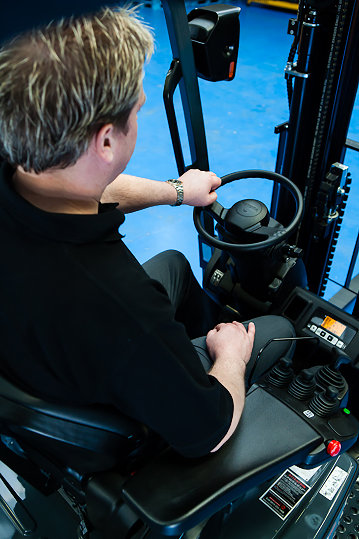 Getting On Board with Lift Truck Safety