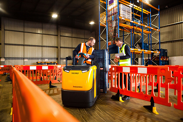 We warn how risks are increased by unaccredited 'in-house' forklift training