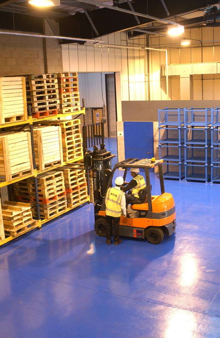 Supervisors are responsible for forklift operations