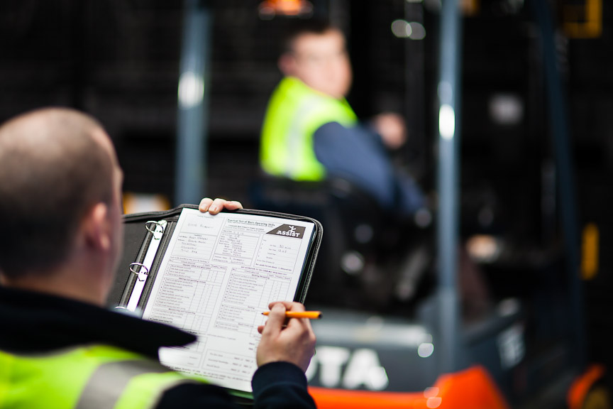 Support Safety and Reduce Costs with Lift Truck Assessor Training