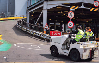 Lack of driver training for airside equipment could compromise safety