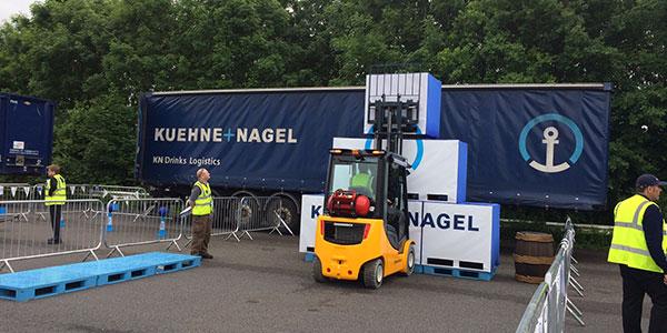 Kuehne + Nagel Forklift Competition