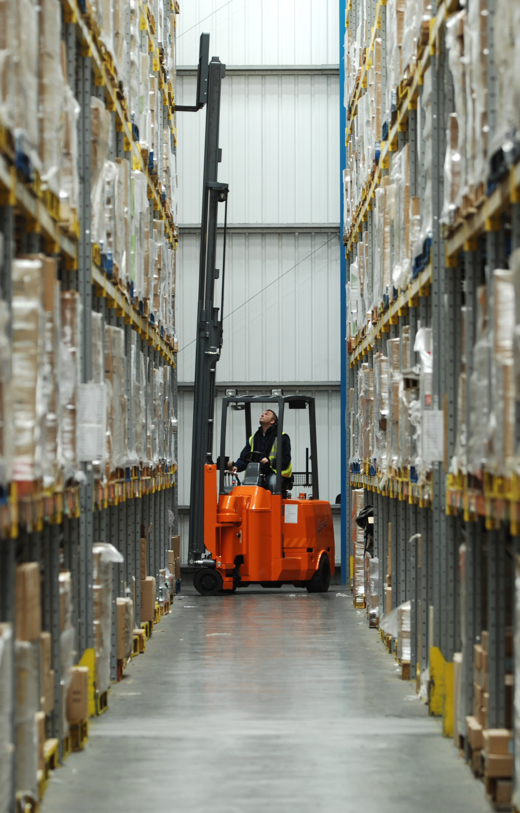 Incorrect Use of Forklift Injures Employee