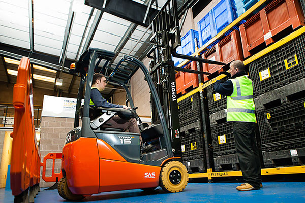 How RTITB accreditation is helping revolutionise lift truck training and save days per course