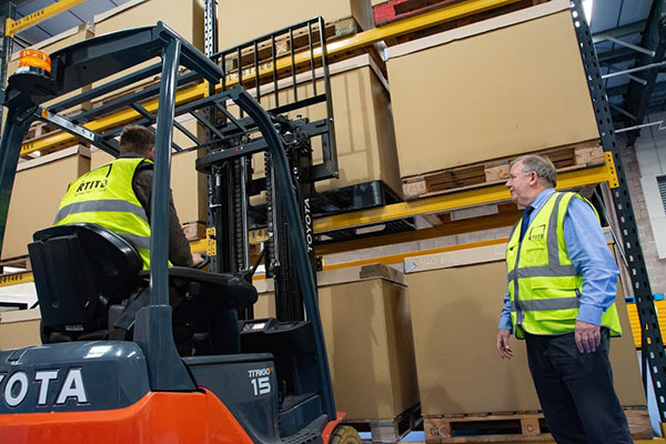 Standardised lift truck operator training nationwide