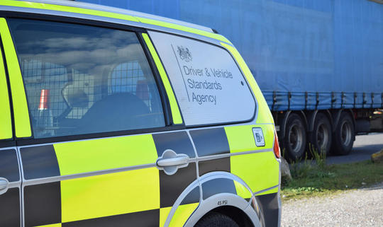 DVSA warns of windscreen clutter following cyclist death