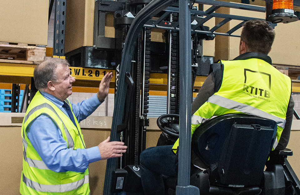 Forklift accreditation