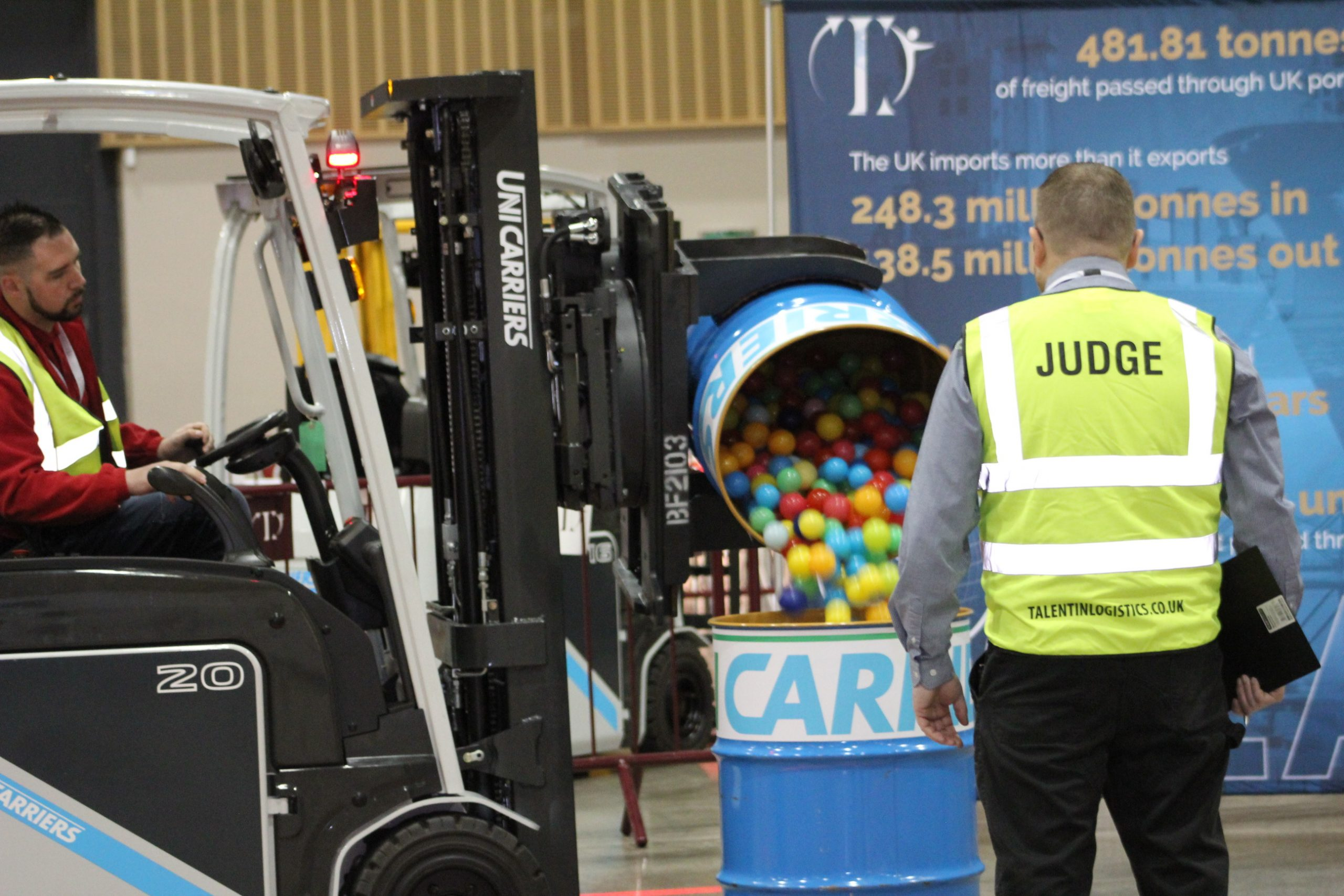 RTITB partners recognised in Talent in Logistics Forklift Operator competition