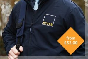 RTITB Branded Soft Shell Jacket