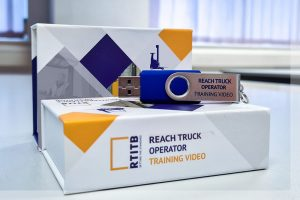 BUTTON: GET YOURS NOW Reach Truck Operator Safety Video