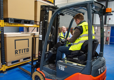 In-house lift truck instructors or outsourced forklift training – what's right for you?