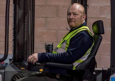 What is adequate forklift truck training?