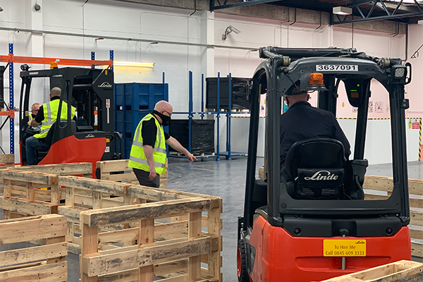Vocational Skills Solutions benefits from eTruck UK