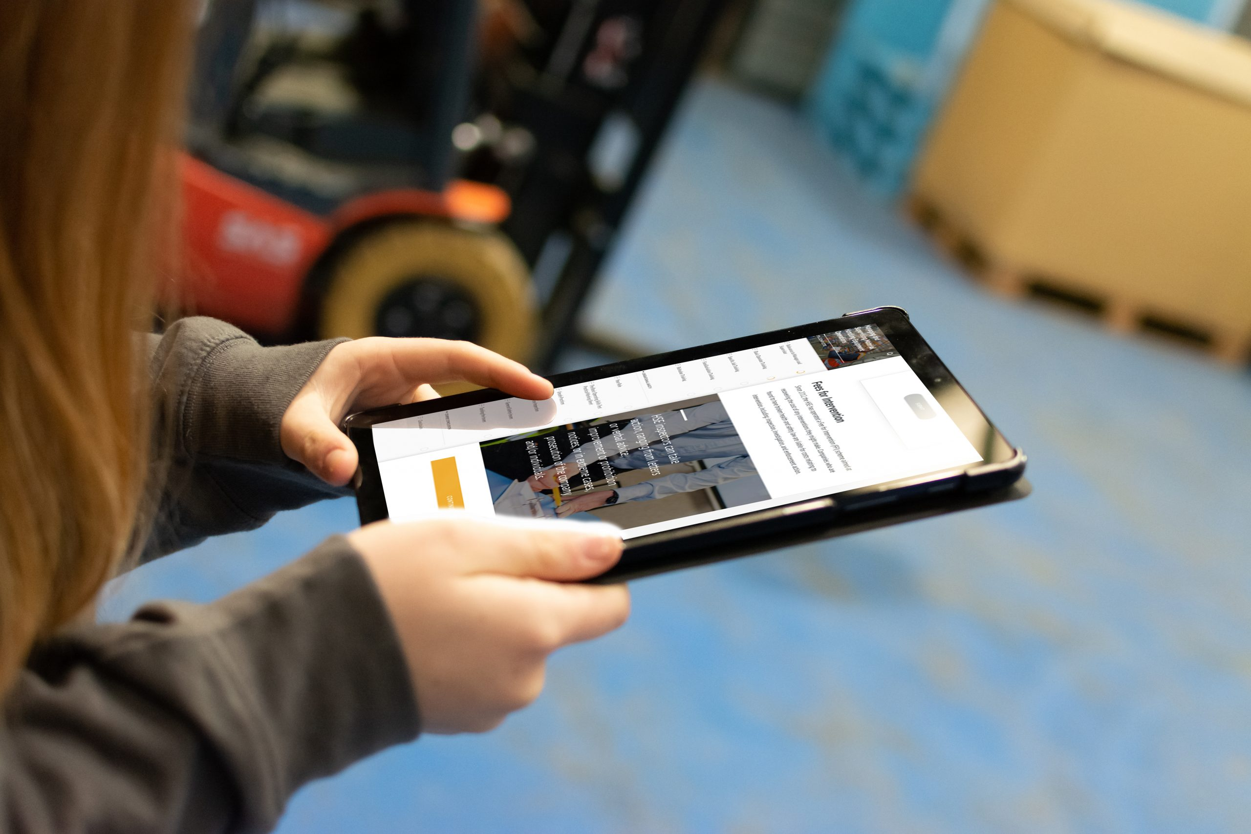 Managers & Supervisors eLearning - Tablet