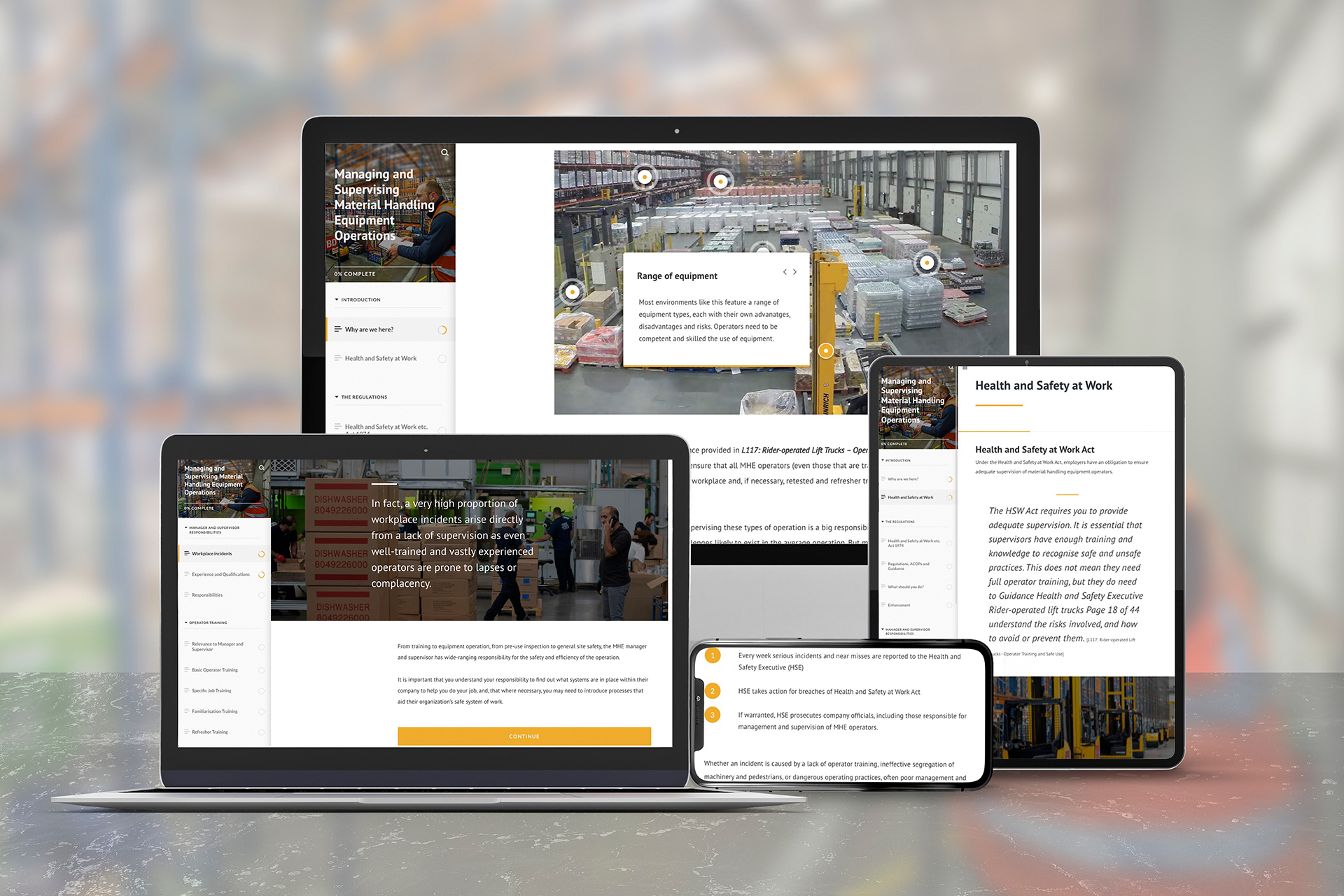 New RTITB eLearning for Managers and Supervisors offers advice on how to manage lift truck operations effectively
