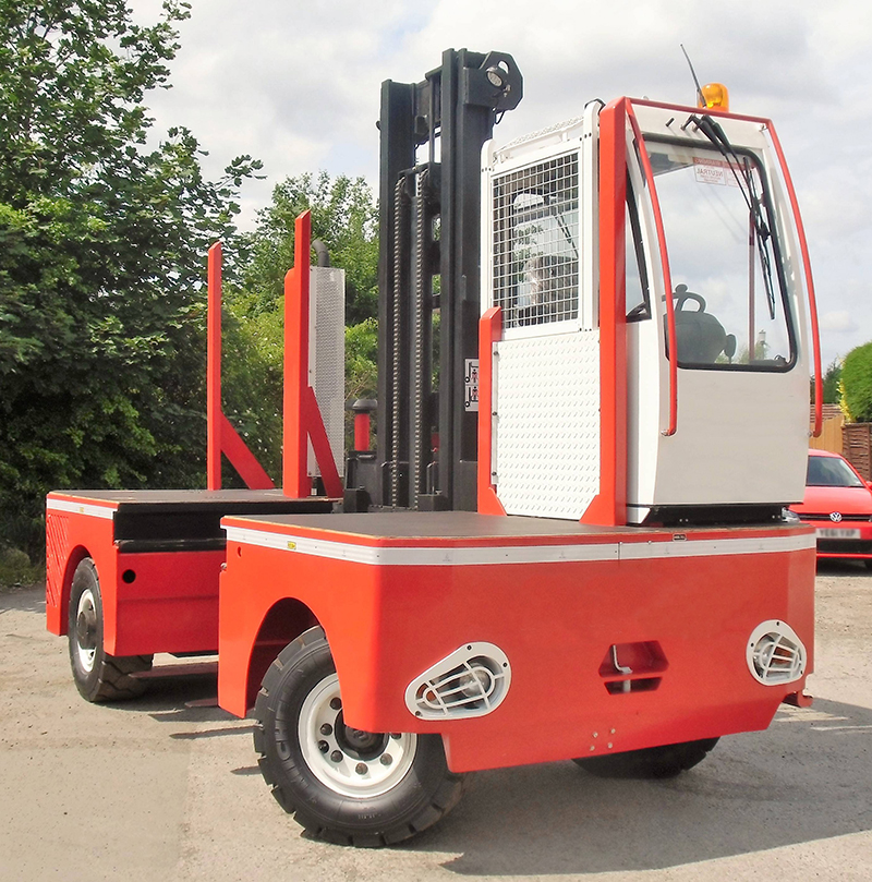 Company fined after incident involving sider loader truck